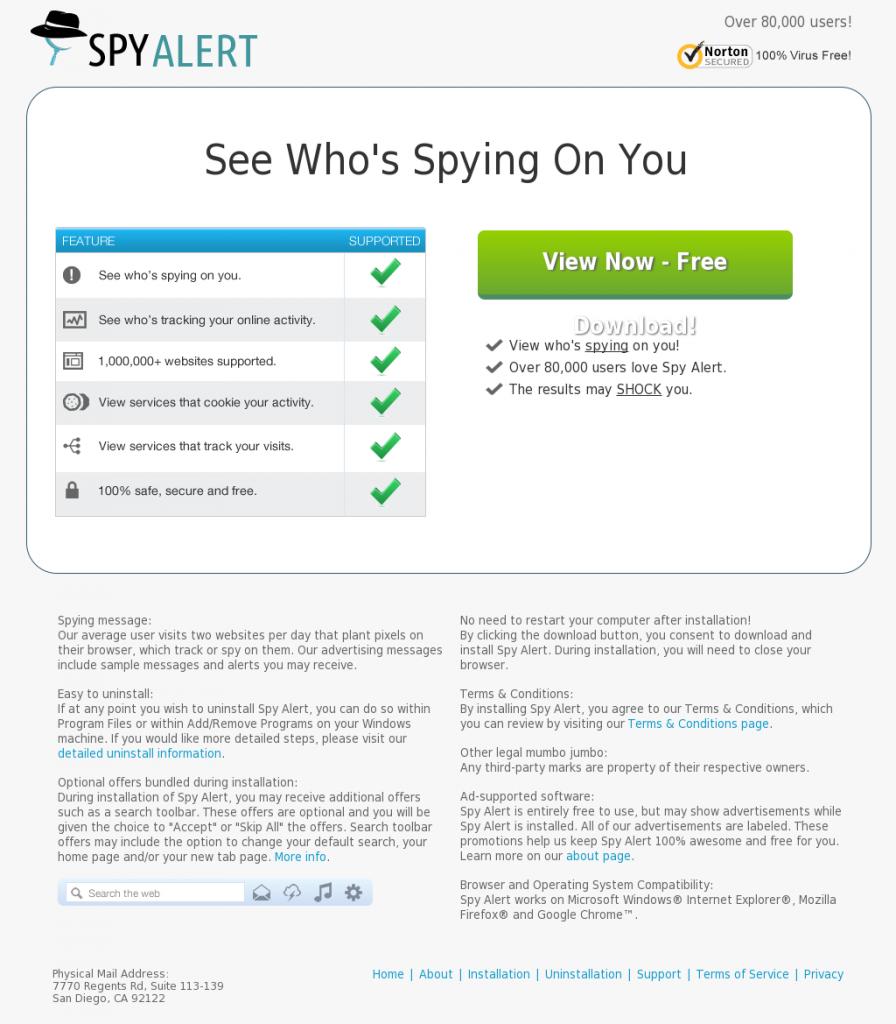 SpyAlertApp_Search_Donkey_PUA_Potentially_Unwanted_Application