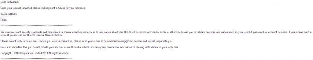 HSBC_Fake_Rogue_Malicious_Email_Spam_Spamvertised_Social_Engineering_Malware_Malicious_Software
