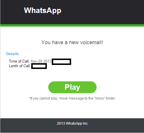 WhatsApp_Fake_Rogue_Malicious_Email_Voice_Message_Notification_Social_Engineering_Malware_Malicious_Software_Cybercrime