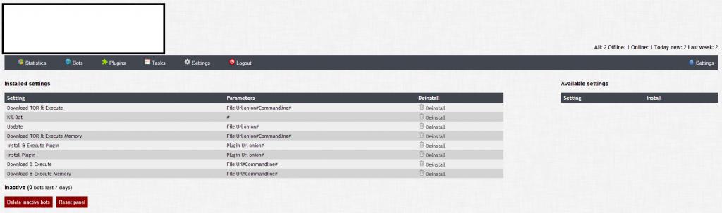 Web_Tor_Malware_Botnet_Cybercrime_Modular