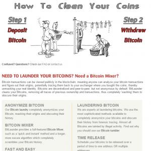 bitcoin launder