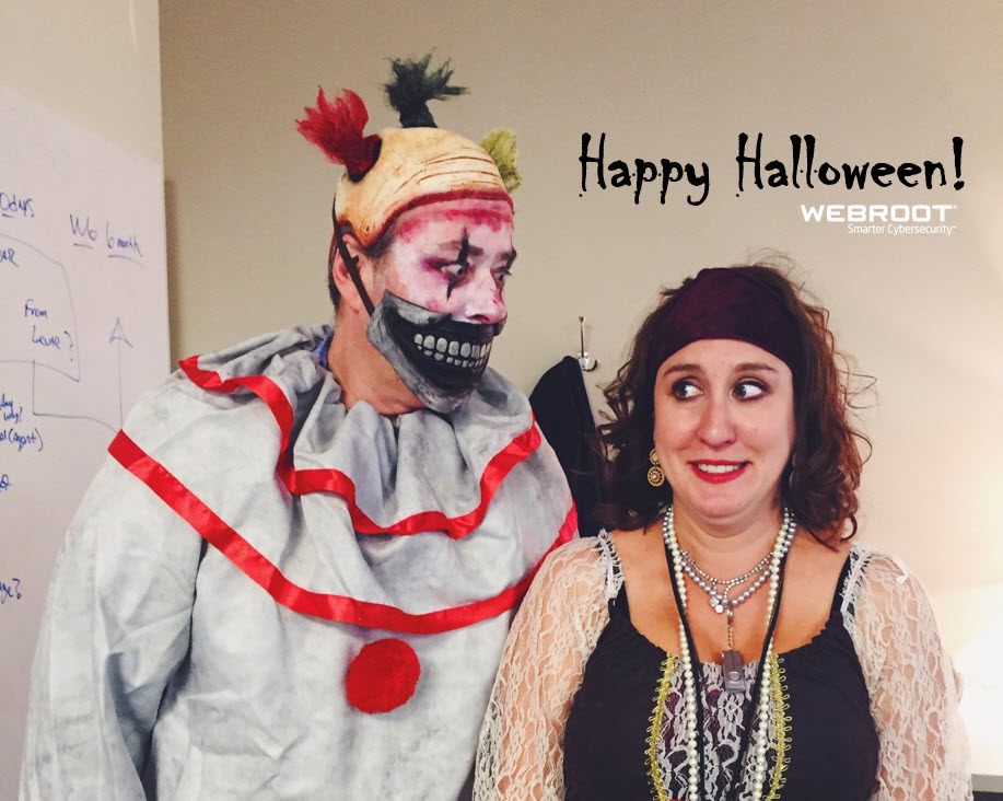 Cyber Threat Halloween Prank