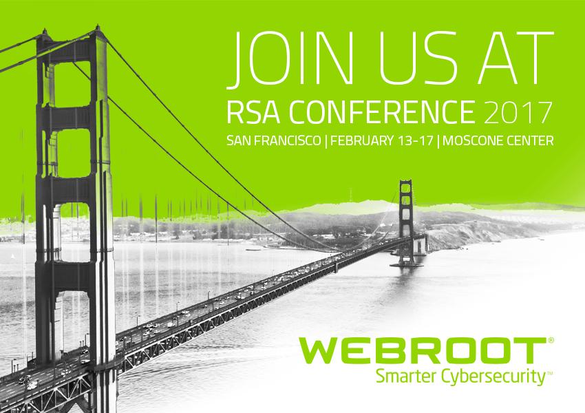 Webroot Attends RSAC 2017