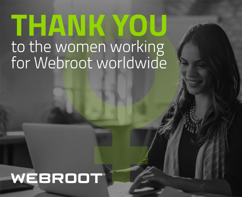 A glimpse into Webroot's International Women's Day