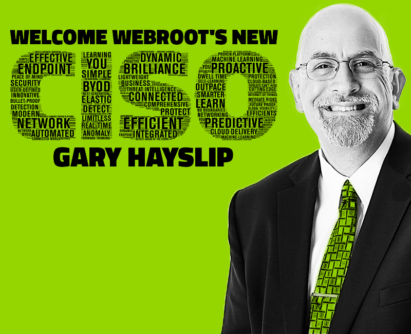 Gary Hayslip Chats About the Internet of Everything, the Strategic Role of Cybersecurity, and Becoming Webroot's New CISO