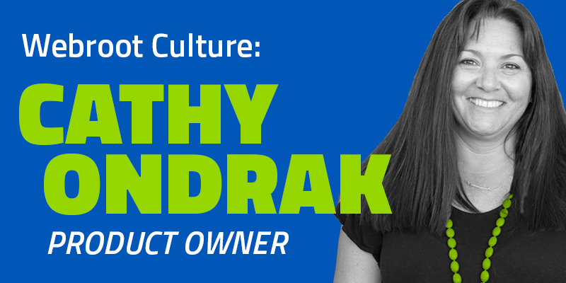 Get to know Cathy Ondrak, Product Owner